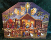 Wooden Nativity Advent Calendar