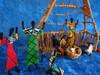 Nativity scene from Zambia