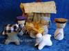 Cotton Nativity Set from Sri Lanka