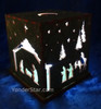 Luminary Nativity Light Box - Hand Made in Maine - Yonder Star Exclusive!