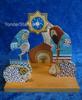 Wooden Nativity Scene from Ukraine
