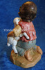 "David - 12"" Scale Fontanini Nativity Boy Kneeling 52928"
