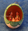 Nativity Scene Inside An Egg - Fair Trade Peru