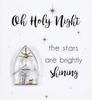 Nativity scene pin