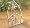 Nativity lapel pin