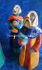 Raku pottery nativity South Africa