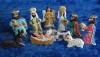 Tin Nativity Scene Made in Guanajuato Mexico