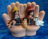 Hands of God Nativity Scene