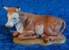 "Ox Seated - 12"" Fontanini Nativity Animal 52934"