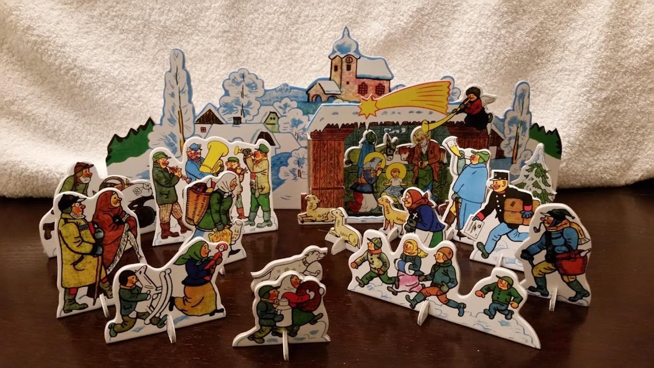 Josef Lada Nativity Czech Republic