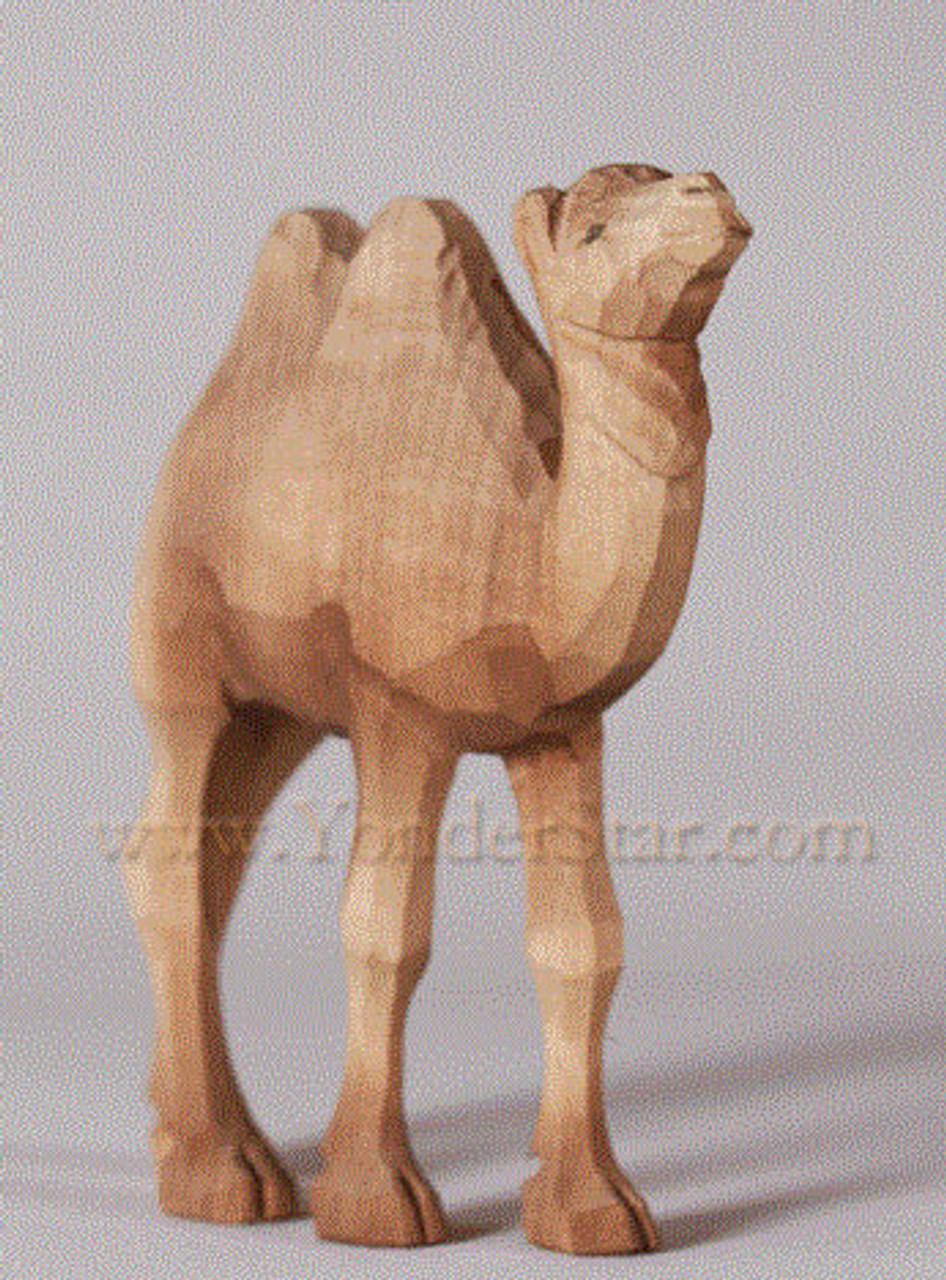 Huggler Wood Nativity Camel