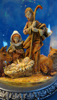 Musical Fontanini Nativity Glitterdome 59011