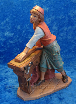 "Amos - 7.5"" Fontanini Nativity Village Carpenter 52859"