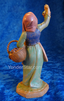 "Carmi - 5"" Fontanini Nativity Vineyard Worker 52504"