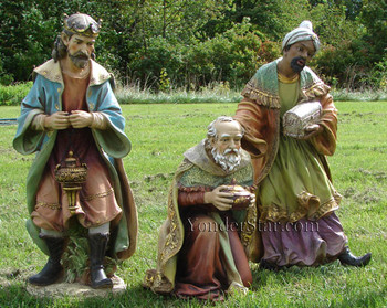outdoor nativity wisemen kings