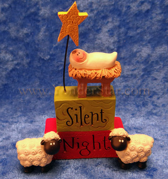Silent Night Mini Nativity Scene