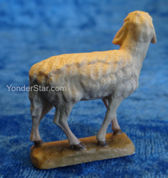 Sheep Looking Left LEPI Reindl Italian Carved Nativity