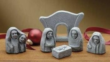 Celtic style nativity