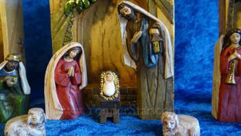 Architectural Bethlehem Nativity Set