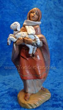 Shepherd woman Fontanini