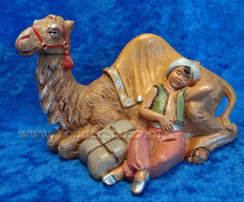 "Cyrus - 5"" Fontanini Nativity Boy w Camel 59801"