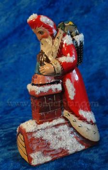 Vaillancourt Folk Art Santa 2015