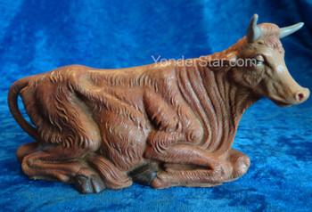 Fontanini seated ox