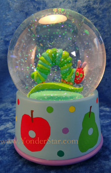"""5.5"""" Musical Glitterdome - The Very Hungry Caterpillar"""