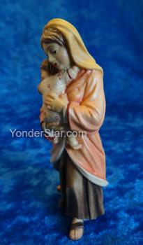 Nazarene Woman Holding Child for LEPI Nazarene Wooden Nativity
