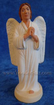 French Santon standing angel