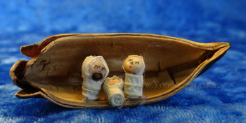 Cocoa Pod Nativity from Ecuador