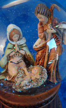 Musical Fontanini Nativity Glitterdome 66169