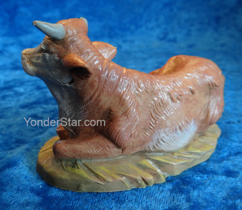 "Ox Seated - 5"" Fontanini Nativity Animal 54016"