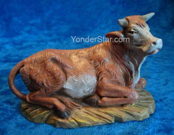 "Ox Seated - 5"" Fontanini Nativity Animal 54016"