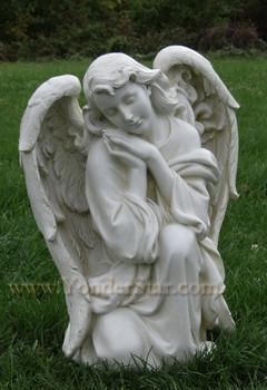 Large Kneeling Angel Outdoor Nativity - 32014