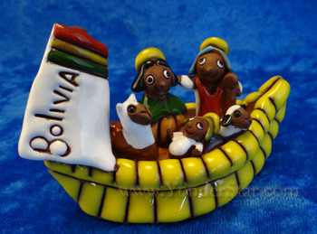 Lake Titicaca nativity - Bolivia