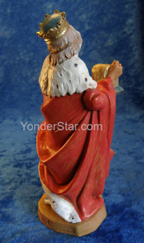 "Melchior - 7.5"" Fontanini Nativity Wiseman 72814"