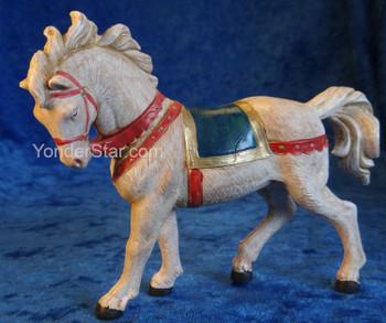 "White Horse - 5"" Fontanini Nativity Animals 72524"