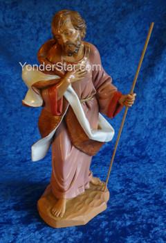 """Joseph - 12"""" Fontanini Nativity Holy Family 72911"""