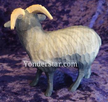 Huggler creche goat