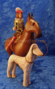 Horseman with hound Kastlunger nativity