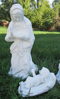 Outdoor Nativity Scene Holy Family
