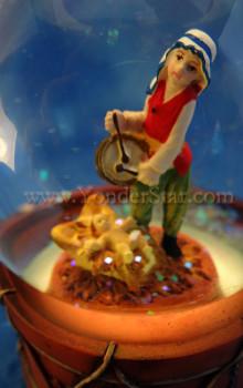 Fontanini Musical Waterglobe Little Drummer Boy 66097