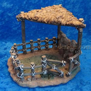 Fontanini sheep shelter