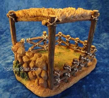 Sheep shelter Fontanini nativity