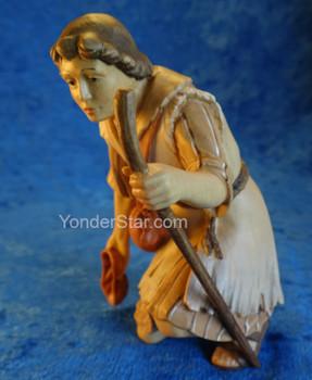 Shepherd Kneeling LEPI Venetian Nativity Italy