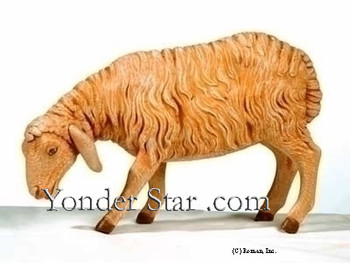 "Standing Sheep - 27"" Scale Fontanini Nativity Animals 53135"