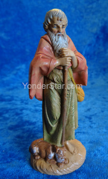 "Abraham - 5"" Fontanini Nativity Villager with Dog 52599"