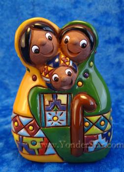 Heart of the Family nativity from Bolivia