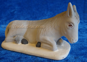 French nativity donkey
